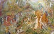 ماجرای آفرینش تابلوی «ضامن آهو»ی محمود فرشچیان
