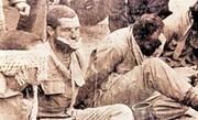 خلبان ارتش کهضدانقلاب او را تا گردن در خاک فرو می کنند و وحشیانه به شهادت می رسانند /شهید ایستاده هوانیروز ارتش کیست؟ + عکس