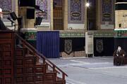 ببینید | روایتی از امام صادق(ع) در حضور رهبر انقلاب در مراسم عزاداری شهادت امام رضا(ع)