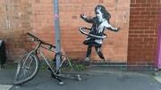 بازی کودکانه؛ اثر تازه بنکسی روی دیوار