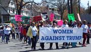 ببینید | راهپیمایی خبرساز زنان علیه ترامپ در قلب آمریکا