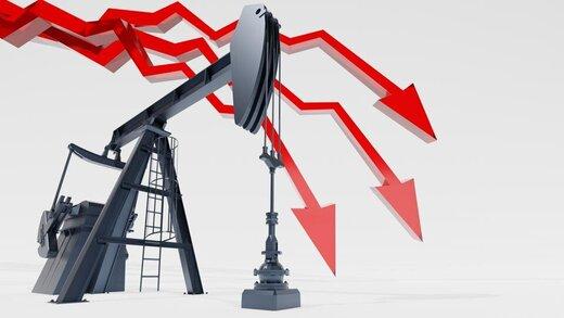 شیب ریزش قیمت نفت تندتر شد