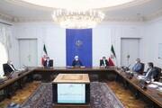 روحانی : إيران أفشلت المخططات الأمريكية لتدمير الاقتصاد الإيراني