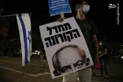 عکس | ادامه اعتراضات در تلآویو علیه نتانیاهو