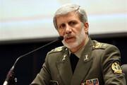 ببینید | خط و نشان قاطع وزیر دفاع برای رژیم صهیونیستی