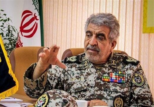 هشدار فرمانده ارتشی به آذربایجان و ارمنستان درباره ورود هرگونه پهپاد متجاوز به خاک ایران