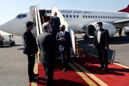 عبدالله عبدالله يصل إلى طهران