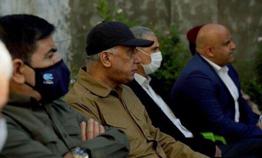 الکاظمی به محل جنایت در بلد رفت/عکس