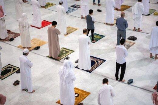 بازگشایی مسجدالحرام و اقامه نماز پس از ۷ ماه