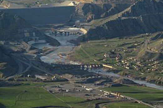 ببینید | پرچم جمهوری آذربایجان بر فراز پل خداآفرین