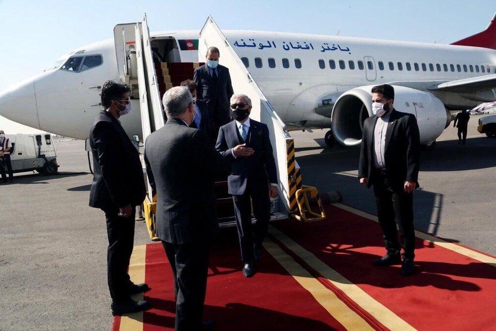 Afghanistan's Abdullah in Tehran for peace, bilateral talks