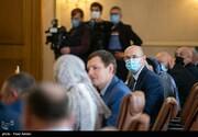تصاویر | مذاکرات هیات ایرانی و اوکراین درباره سانحه هواپیما