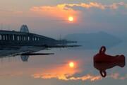 ادامه روند کاهشی تراز دریاچه ارومیه، علیرغم افزایش ۲ برابری بارندگی