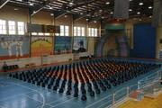 توزیع ۷۰۰ بسته نوشت افزار میان دانش آموزان کم برخوردار مسجدسلیمانی