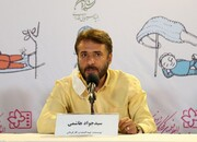 حرکت اعتراضی سیدجواد هاشمی در نشست خبری فیلم «تورنادو۲»