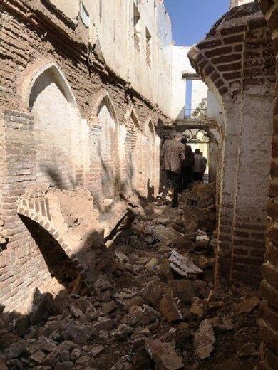 برخورد قضایی با عاملان تخریب ساباط تاریخی خیابان عبید زاکانی