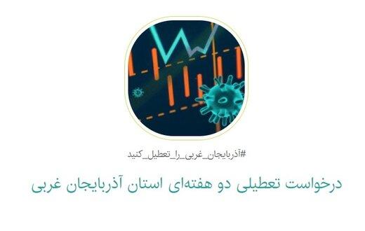 درخواست فعالین اجتماعی و رسانهای برای تعطیلی ۲ هفتهای آذربایجانغربی بخاطر کرونا