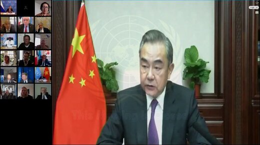 وزیر خارجه چین: مرحله نخست قطعنامه ۲۲۳۱ در ۲۷ مهر کامل شد