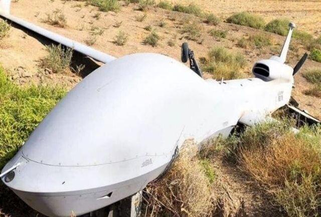 5477989 - سقوط پهپاد نظامی جنگ قره باغ در شمال غرب ایران