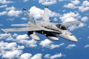 ببینید | سقوط جنگنده اف-۱۸ آمریکا