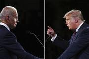 ببینید | ترامپ در تقابل با بایدن؛ نامزدهای انتخابات در گوشه رینگ