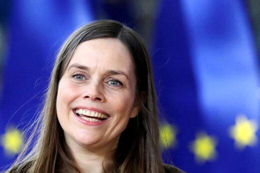 ببینید | زمین لرزه هنگام مصاحبه نخست وزیر ایسلند
