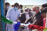 بهرهبرداری از دو زمین چمن مصنوعی در شهرستانهای کنارک و چابهار