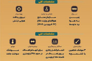 اینفوگرافیک | آشنایی با سامانه ایرانی پدافند هوایی مرصاد