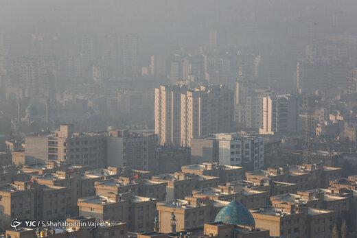 آلودهترین مناطق تهران مشخص شدند؛ تنها سه ایستگاه هوای سالم دارد