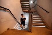 پیمودن ۱۶۹۳ پله برج میلاد توسط ۴۴ شهروند تهرانی