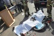 ببینید | لحظه تصادف و سقوط موتورسیکلت داخل چال تعویض روغنی