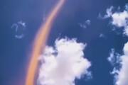 ببینید | گردباد عجیب و ترسناک شن