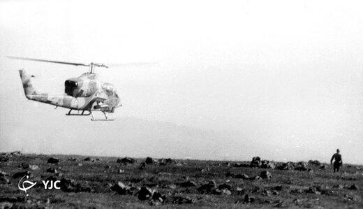 این خلبان ارتش با خدا مصاحبه کرد /خلبانی که با بالگرد از ارتش بعثی اسیر گرفت+عکس