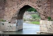 تصاویر | پل کهنه ساسانی در آستانه تخریب