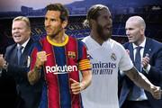 رونمایی از ترکیب بارسلونا و رئال: حضور راموس و نیمکتنشینی گریژمان