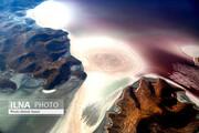 ببینید | عکسهای دیدنی و متفاوت از دریاچه ارومیه