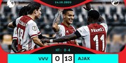 نتیجه عجیب در لیگ هلند: فنلو صفر- آژاکس 13!