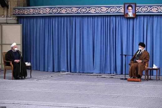 جلسه ستاد ملی مقابله با کرونا با رهبر انقلاب