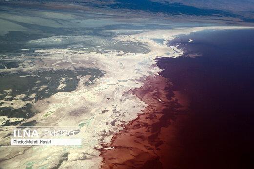 عکسهای هوایی از دریاچه ارومیه