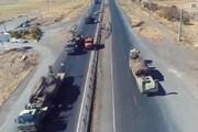 استقرار نیروهای سپاه پاسداران در مرز آذربایجان و ارمنستان +عکس