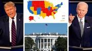 وضعیت ترامپ و بایدن در ایالتهای کلیدی