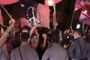 ببینید | تصاویر دستگیری معترضین در نزدیکی محل اقامت نتانیاهو