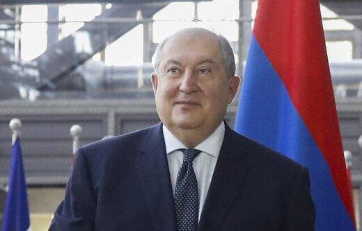 رئیس جمهوری ارمنستان: از توافق قرهباغ اطلاعی نداشتم