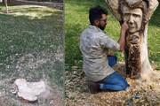 ببینید | قطع تندیس شجریان در پارک ملت مشهد!