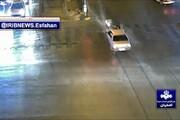 ببینید | عبور از چراغ قرمز و برخورد پراید با موتورسوار