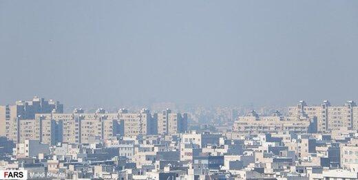 هوای تهران همچنان آلوده است/جولان ذرات معلق در پایتخت