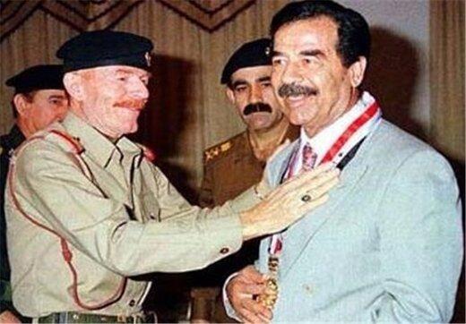 عزت الدوری معاون صدام درگذشت