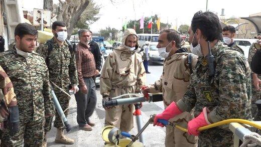 استقرار گشت ارشاد ماسک از سوی سپاه محمد رسول الله تهران