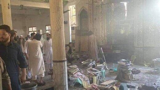دهها کشته و زخمی در انفجاری در یک مدرسه مذهبی پاکستان