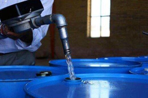 نفت سفید شرکت ملی پخش فرآوردههای نفتی روی میز فروش بورس انرژی